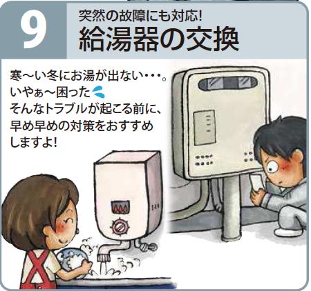 給湯器交換 川崎市中原区らくらくライフ