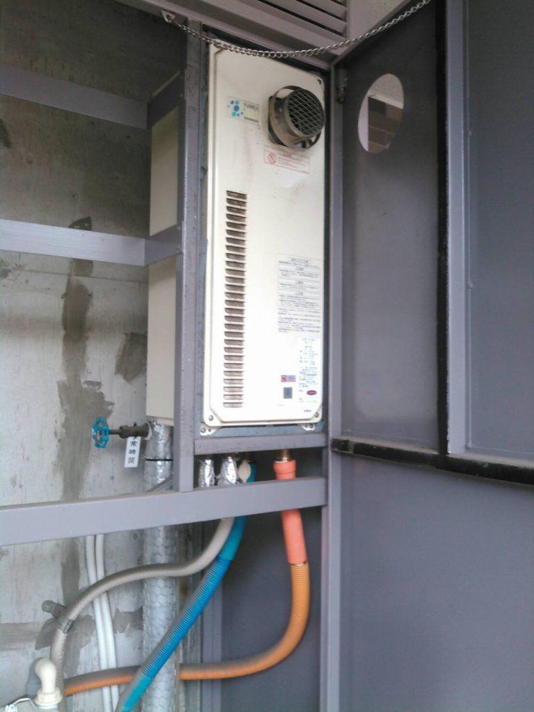 川崎市中原区 給湯器・水栓・ビルトインコンロ交換工事