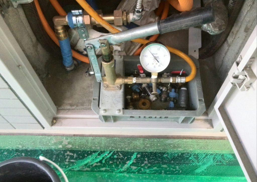 品川区 水道管交換工事
