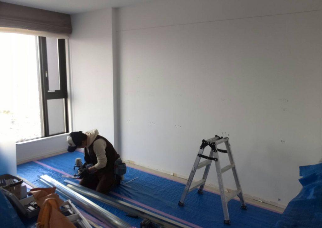 川崎市中原区 壁造作工事