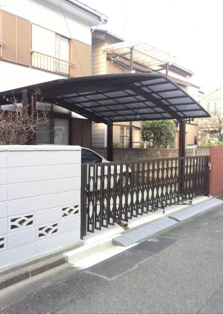 川崎市中原区 ブロック塗装工事・カーポート工事ご報告(J127302 ...