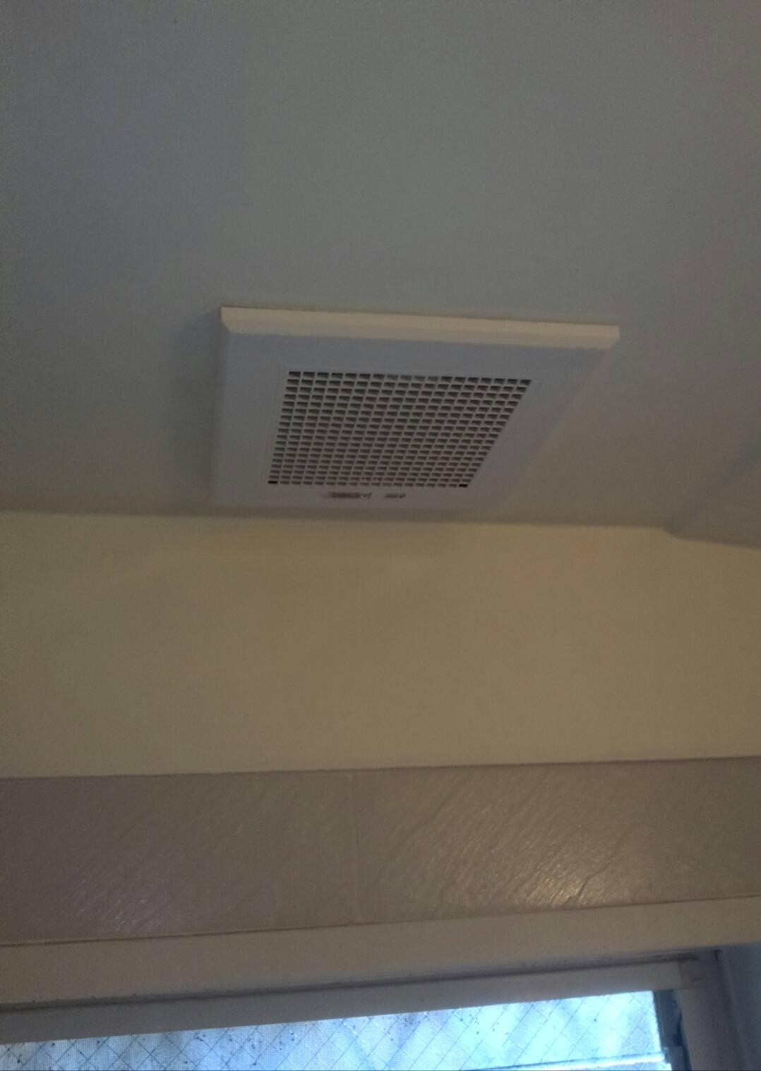 川崎市中原区 換気扇交換工事を行いました! | リフォーム東京