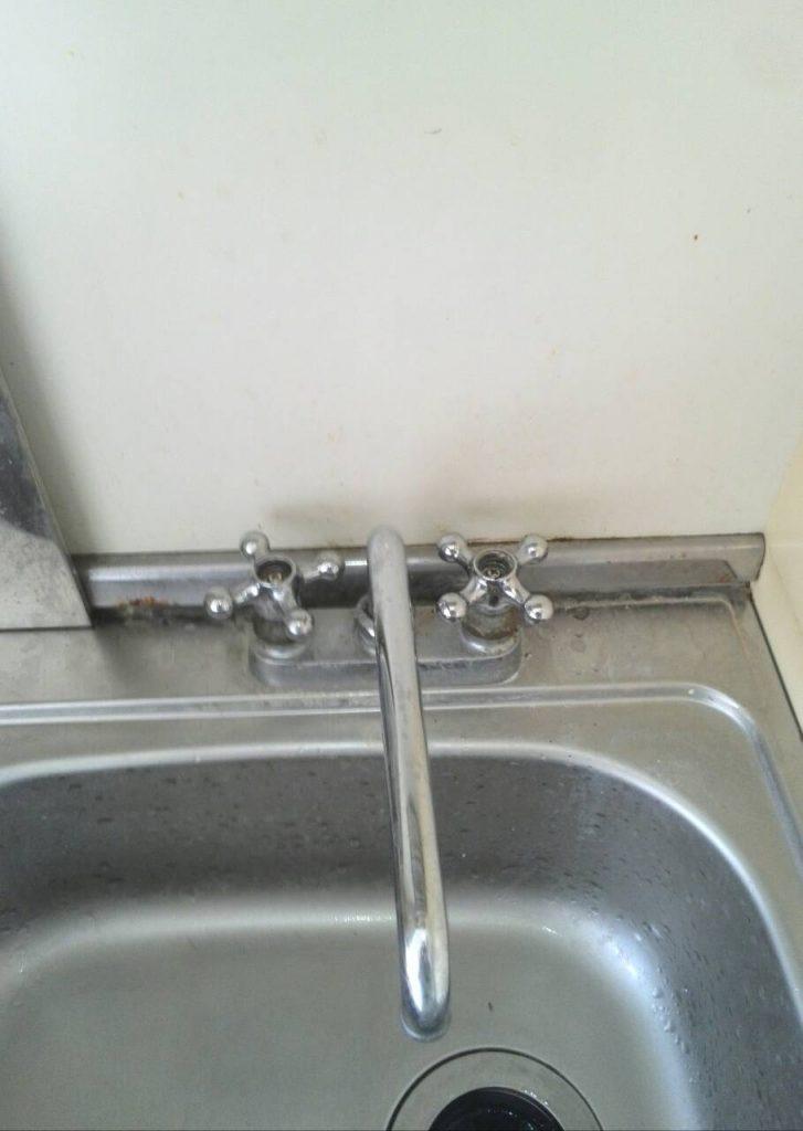 川崎市川崎区 キッチン水栓ハンドル交換工事