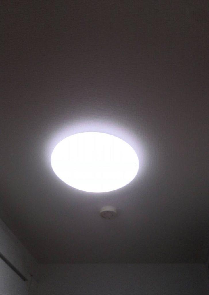 川崎市中原区 キッチン照明器具交換工事