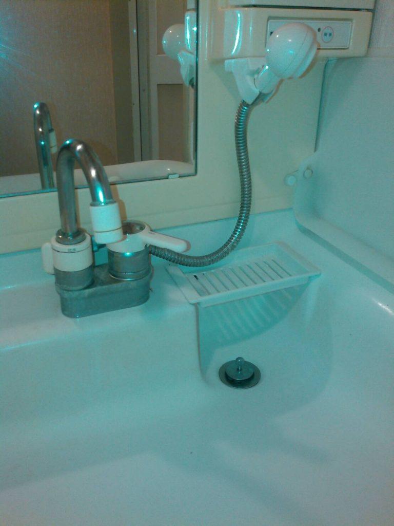 川崎市中原区 洗面化粧台水栓交換工事