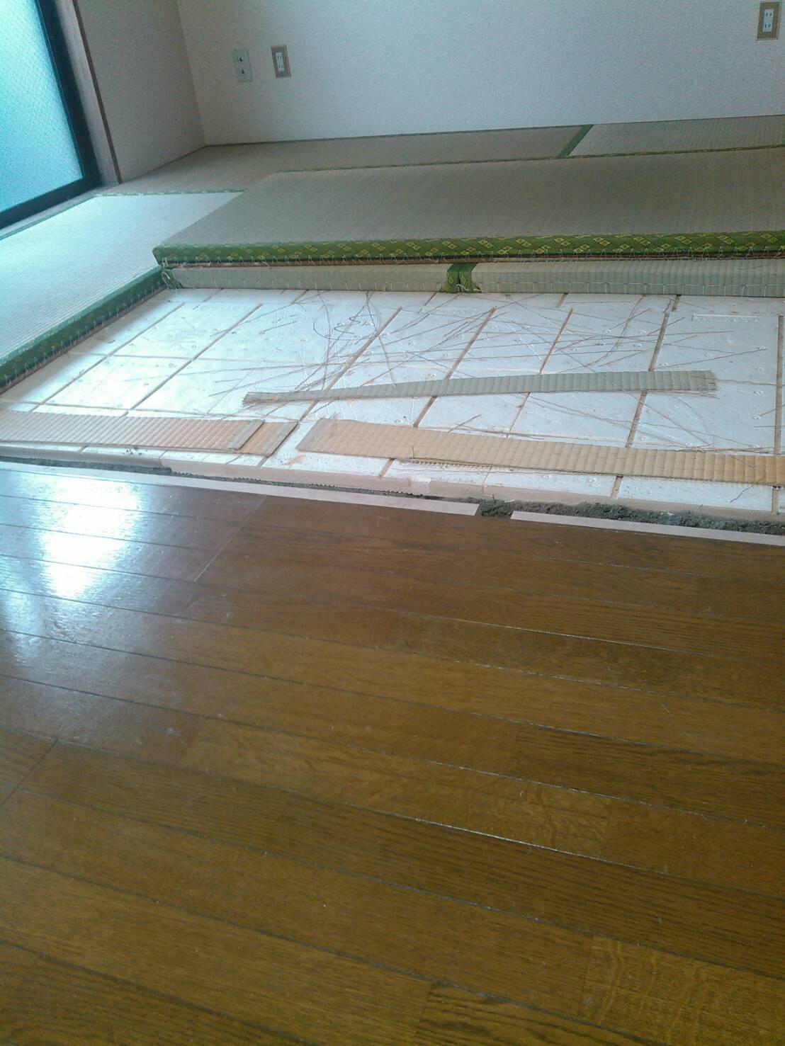 川崎市中原区 敷居交換工事を行いました! | リフォーム東京