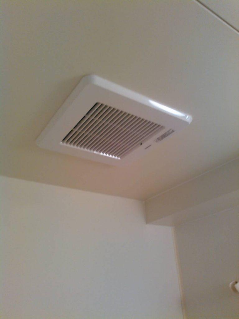 品川区 浴室換気扇交換工事