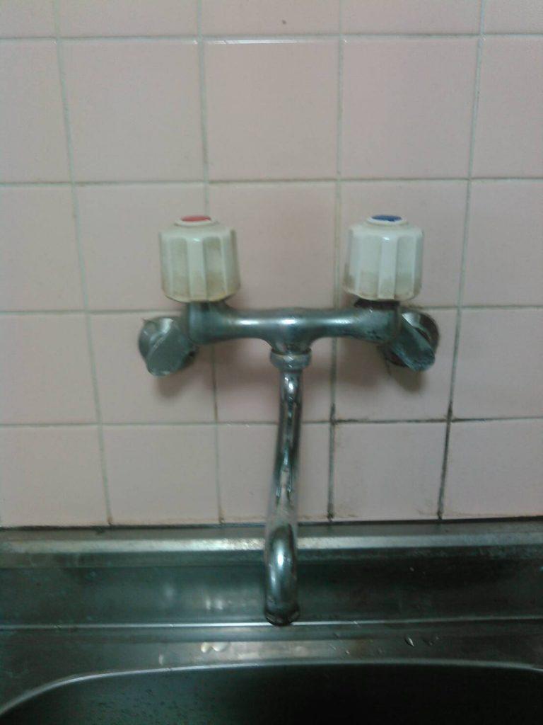川崎市中原区 キッチン水栓交換工事
