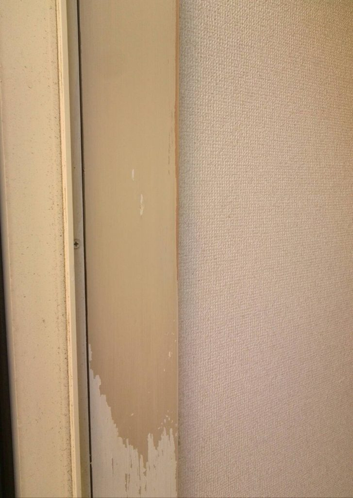 横浜市神奈川区 玄関塗装工事