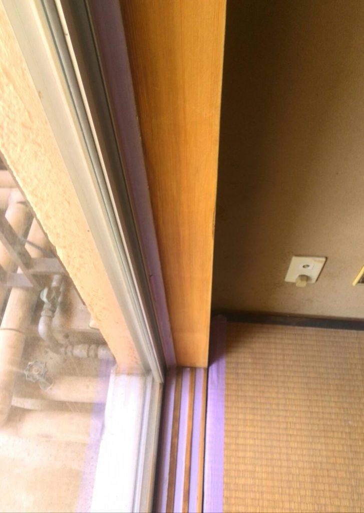 大田区 和室枠アク洗い工事