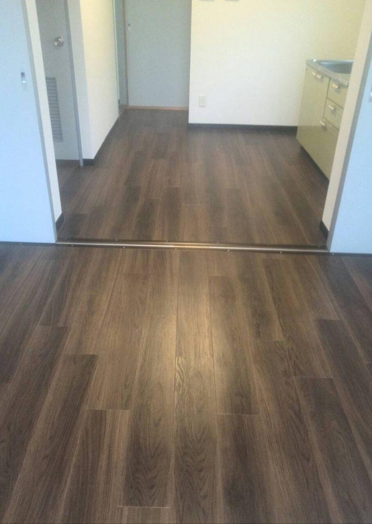 川崎市多摩区 床張替え工事を行いました! | リフォーム東京