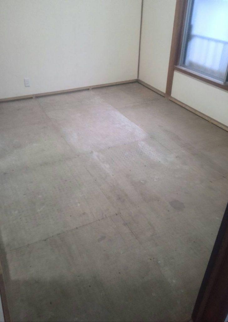 品川区 マンション畳からフローリングへ変更工事