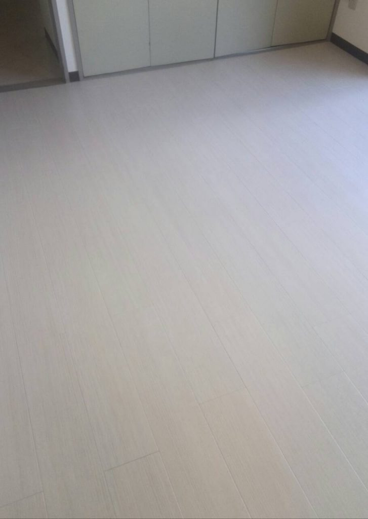 世田谷区 洗面・トイレ・洋室床張替え工事