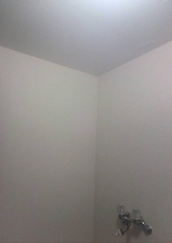 大田区 脱衣所壁紙張替え工事
