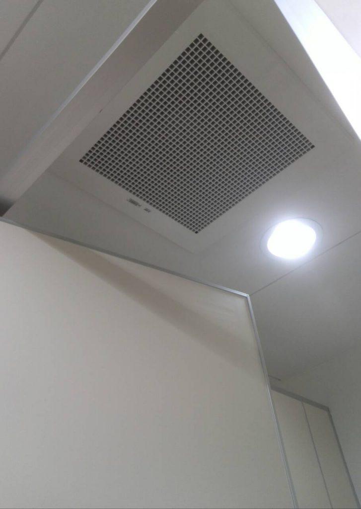 川崎市中原区 トイレ換気扇交換工事