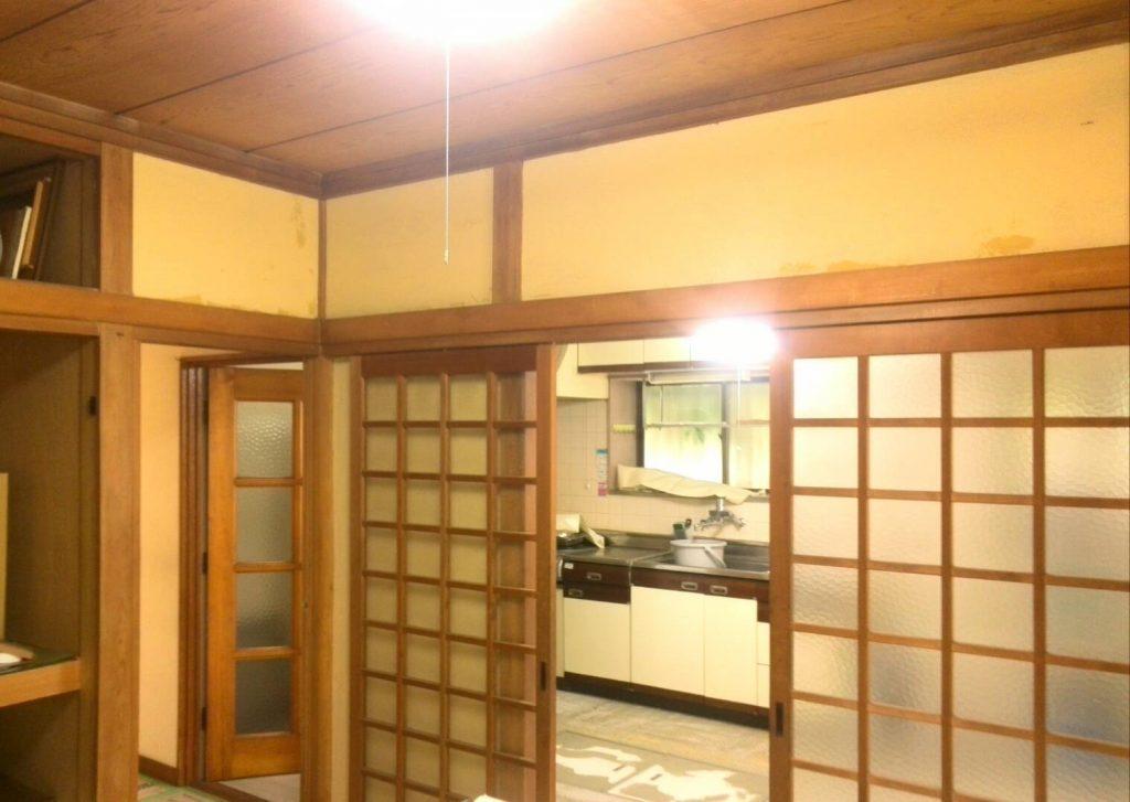 川崎市中原区 壁紙下地調整工事