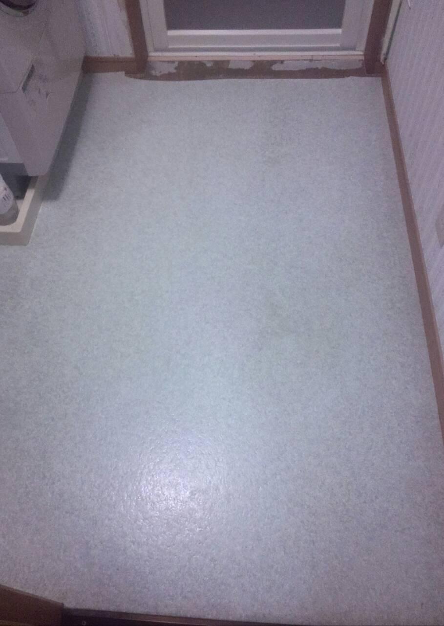 川崎市多摩区 脱衣室床張替え工事を行いました! | リフォーム ...