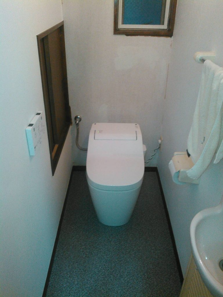 横浜市港北区 トイレ交換工事