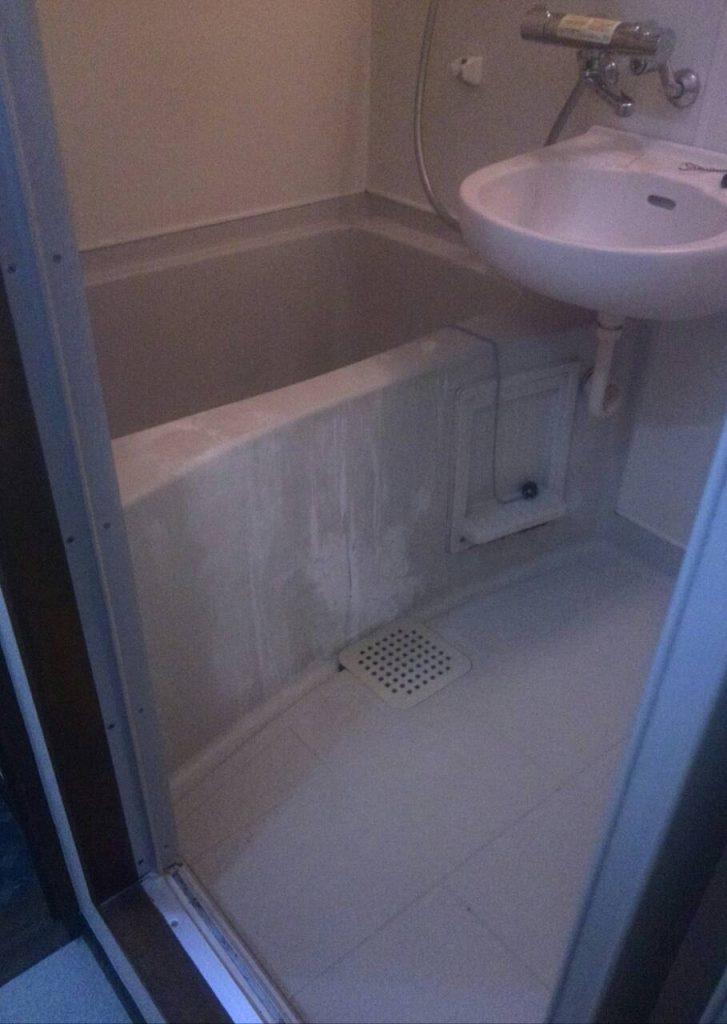 川崎市中原区 浴室クリーニング工事