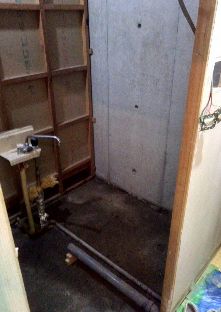 川崎市高津区 浴室解体工事