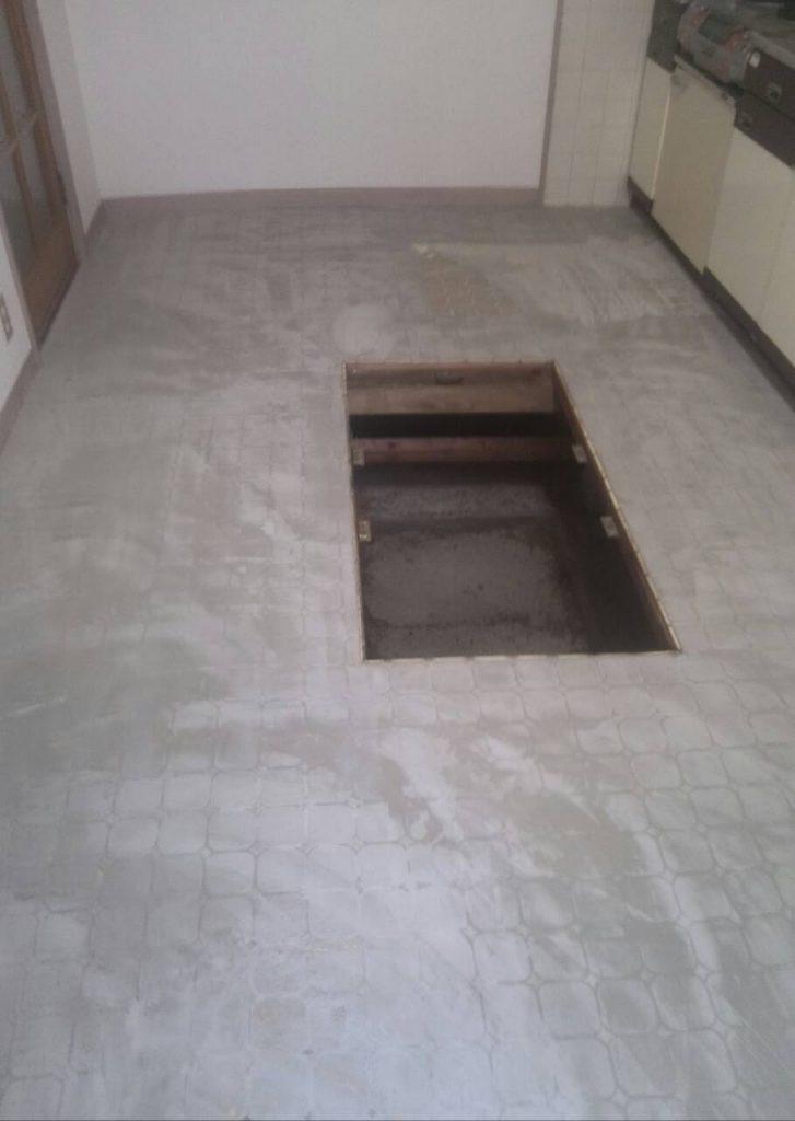 川崎市中原区 床張り替え工事