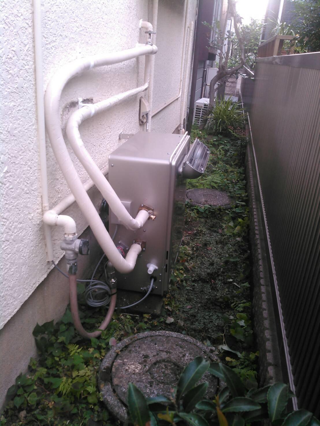 川崎市幸区 給湯器リフォーム工事