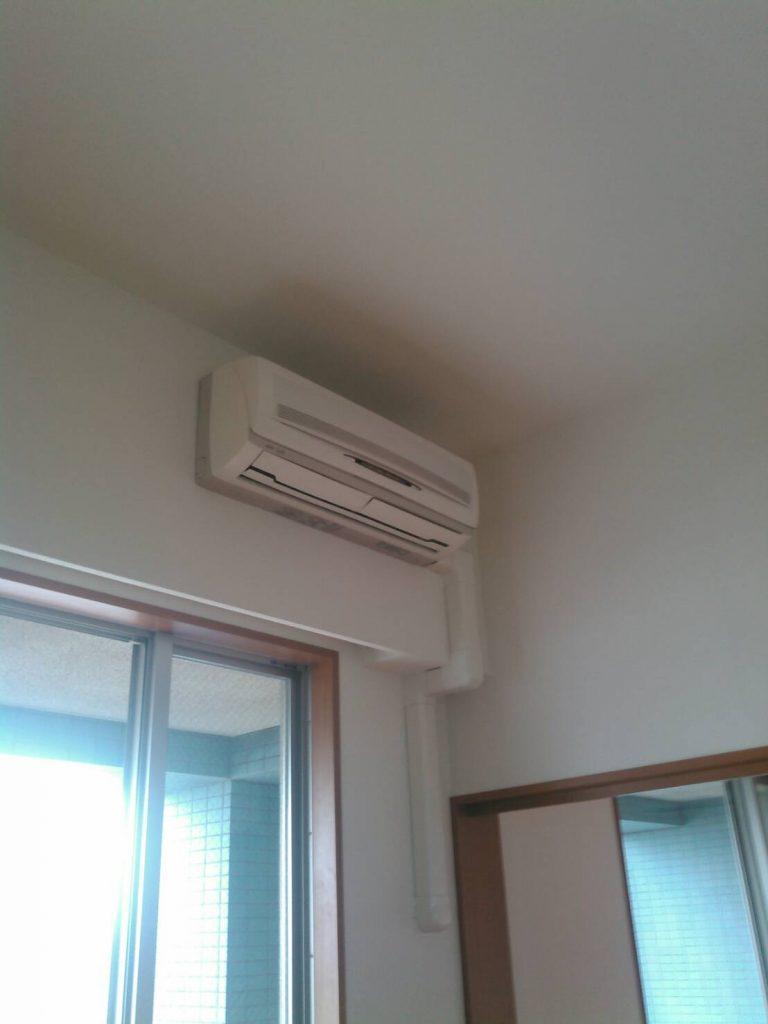 川崎市中原区 エアコン撤去工事