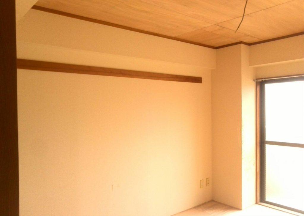 川崎市中原区 枠・建具塗装工事前