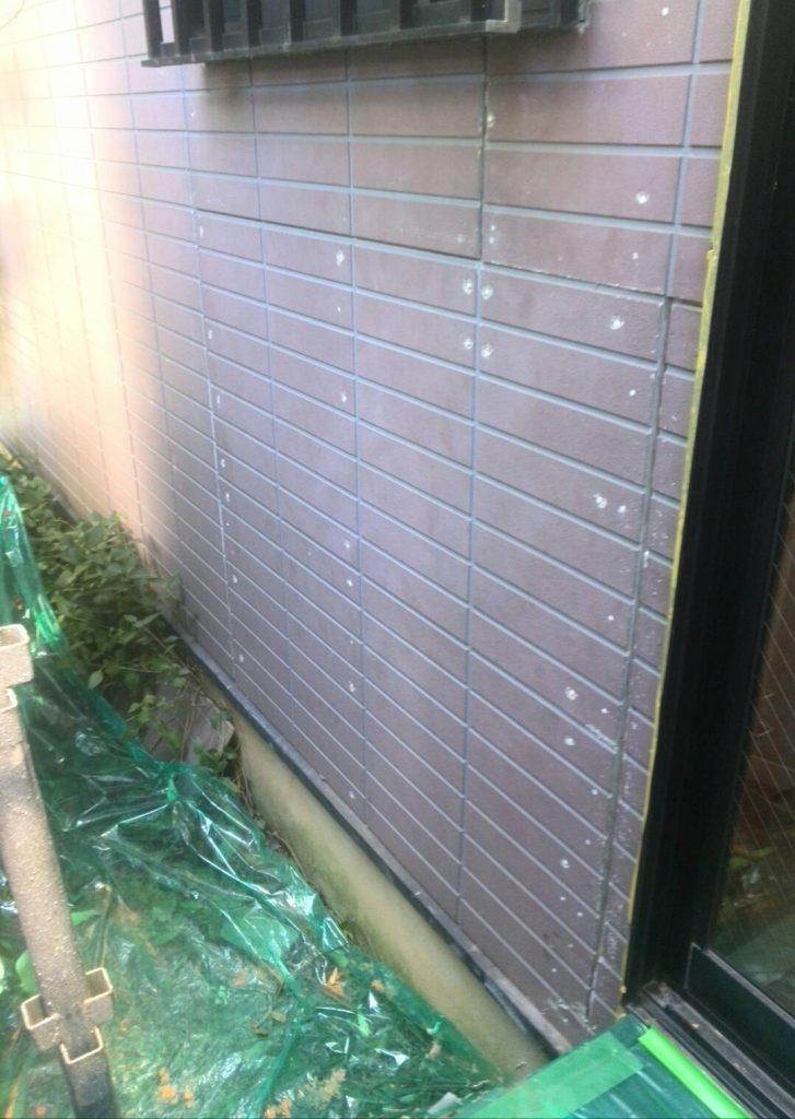 川崎市中原区 サイディング張り工事