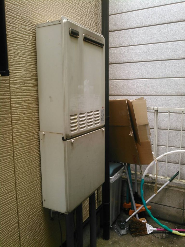 川崎市中原区 給湯器交換工事