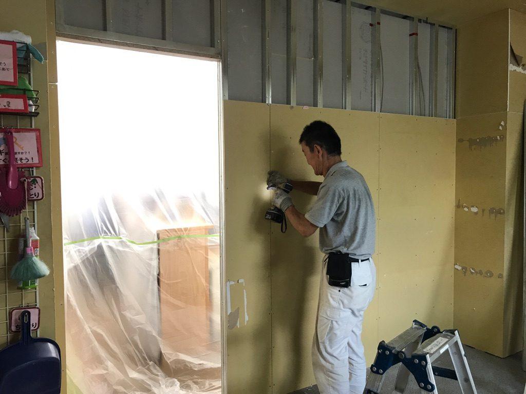 壁解体工事 川崎市中原区