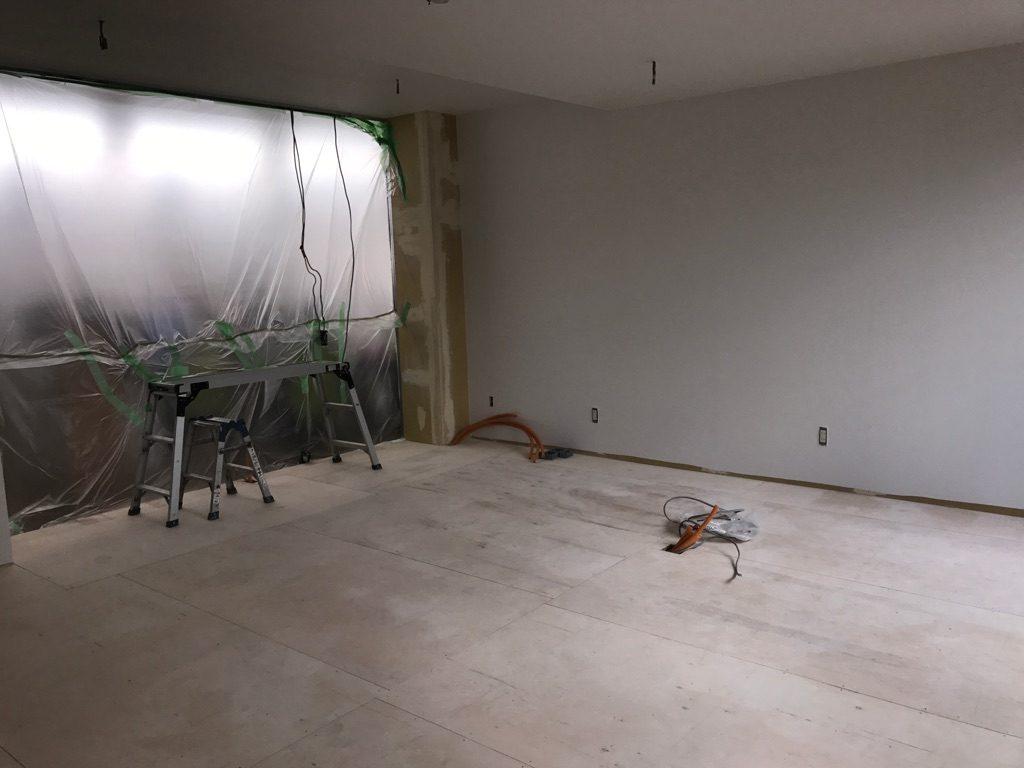 川崎市中原区 壁紙張り工事