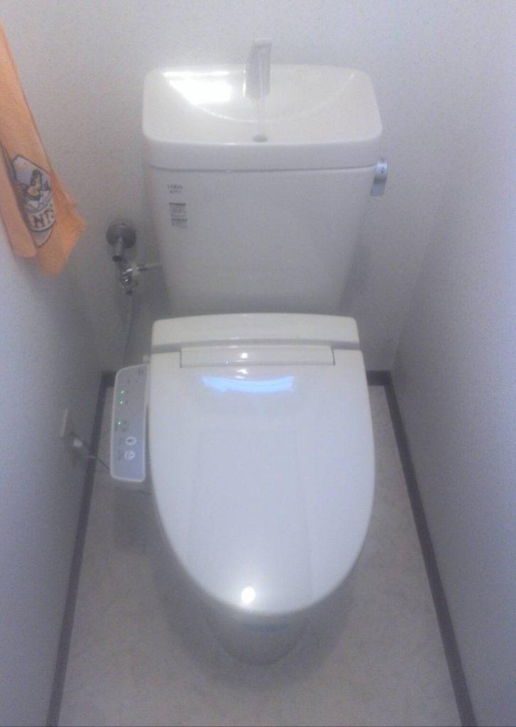 川崎市中原区 トイレ便器・ウォシュレット交換工事