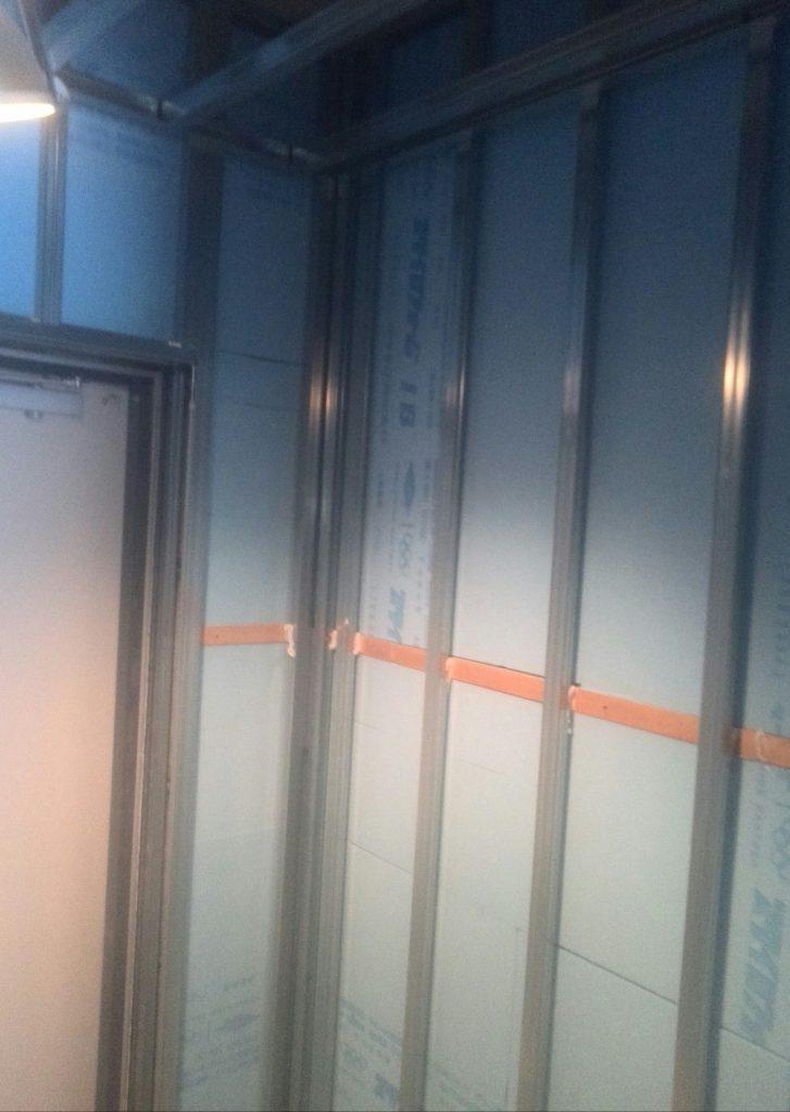 品川区 軽量工事を行いました! | リフォーム東京
