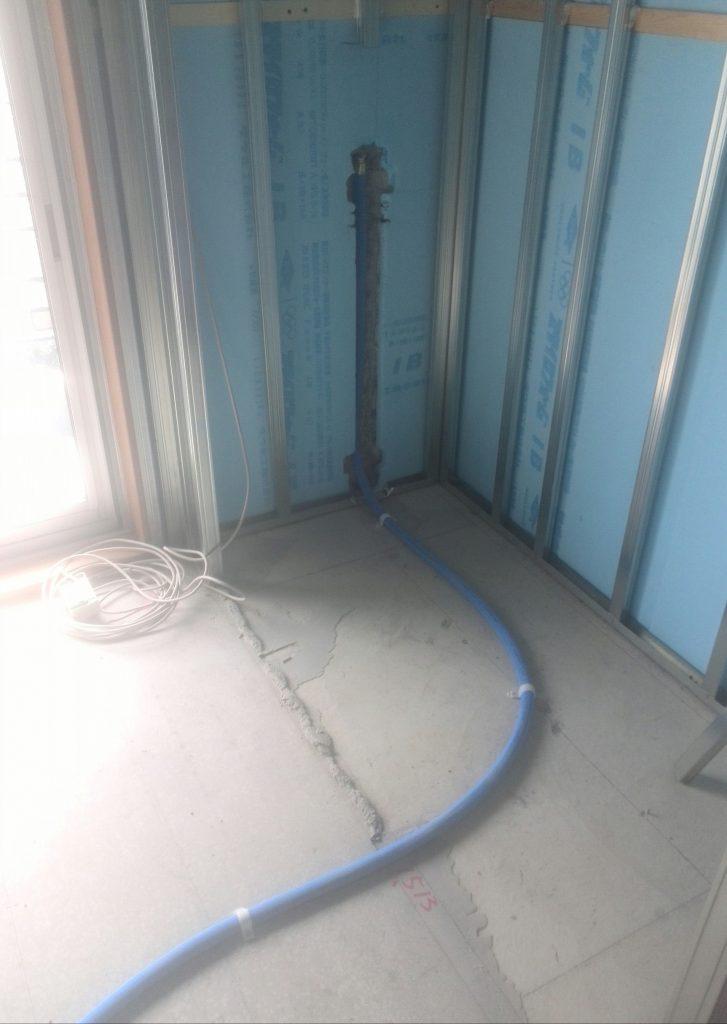 品川区 新規水道工事