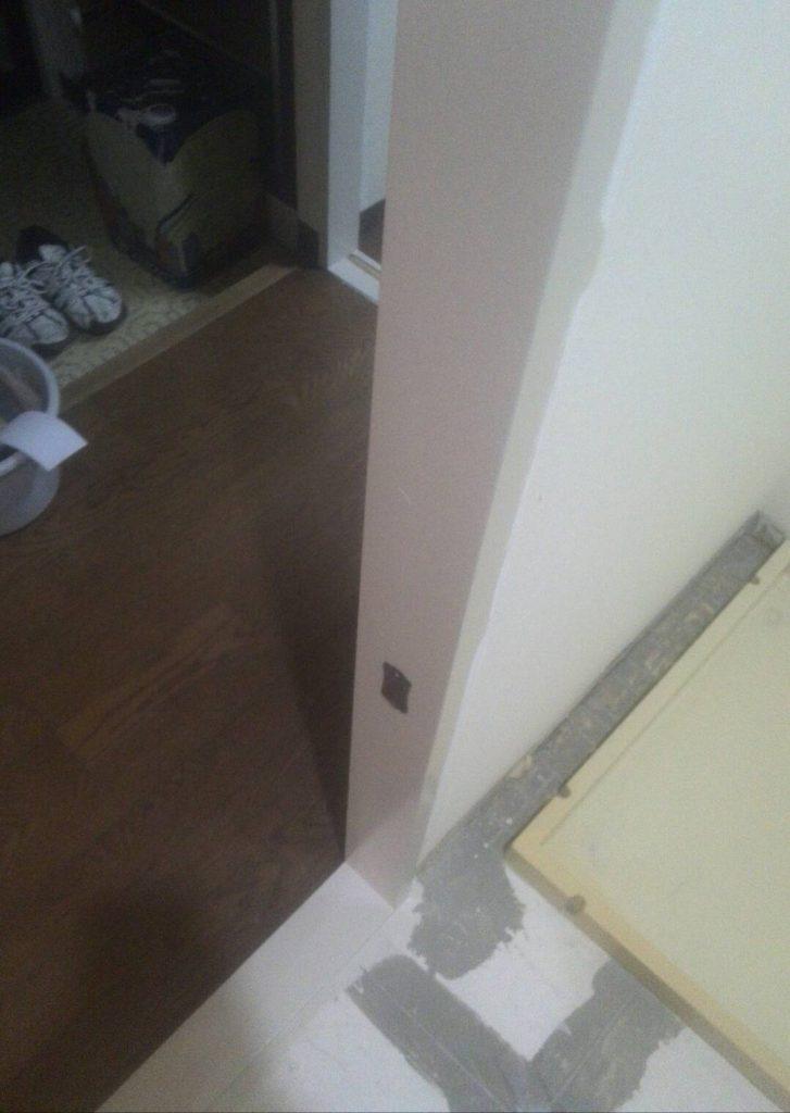 品川区 枠塗装工事