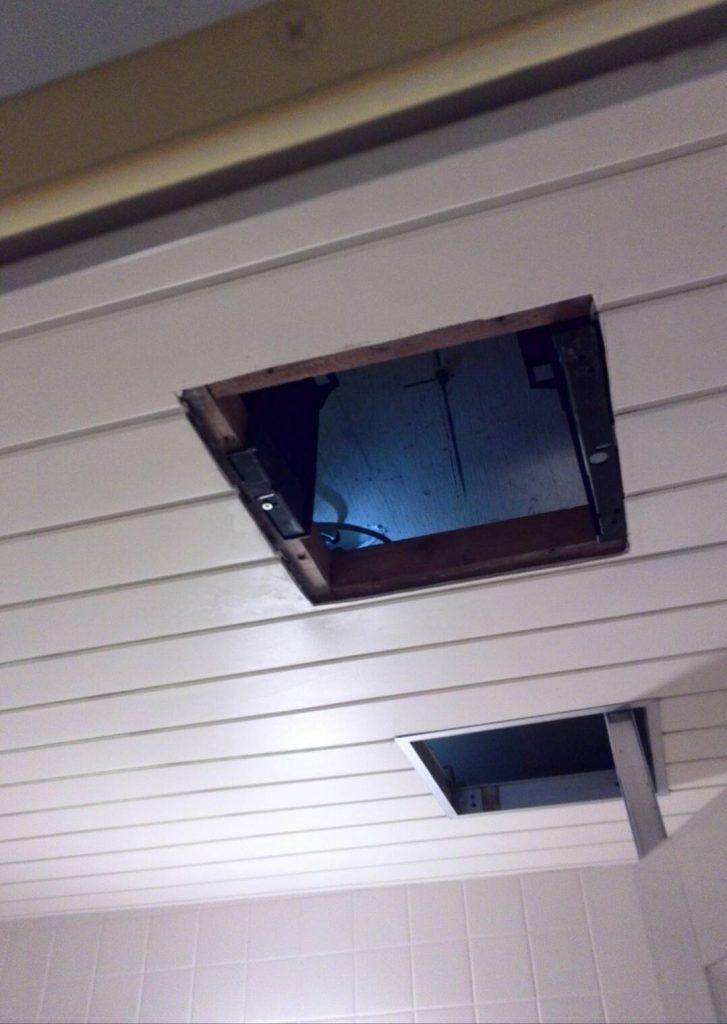 目黒区 浴室換気扇交換工事