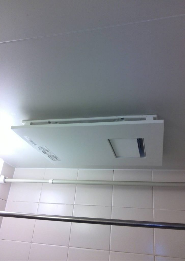 大田区 浴室換気乾燥暖房機交換工事