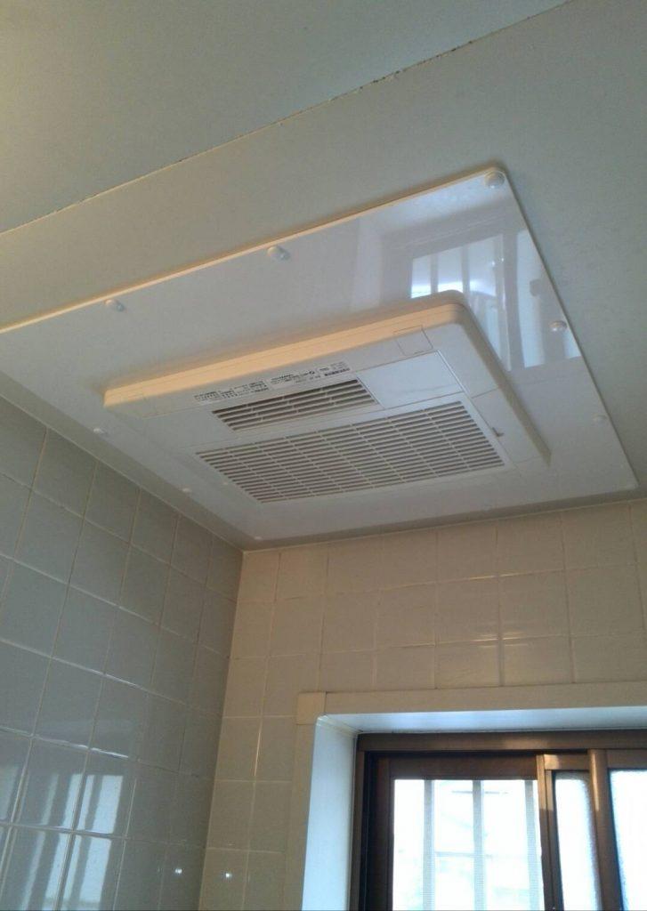 川崎市中原区 換気乾燥暖房機取付工事