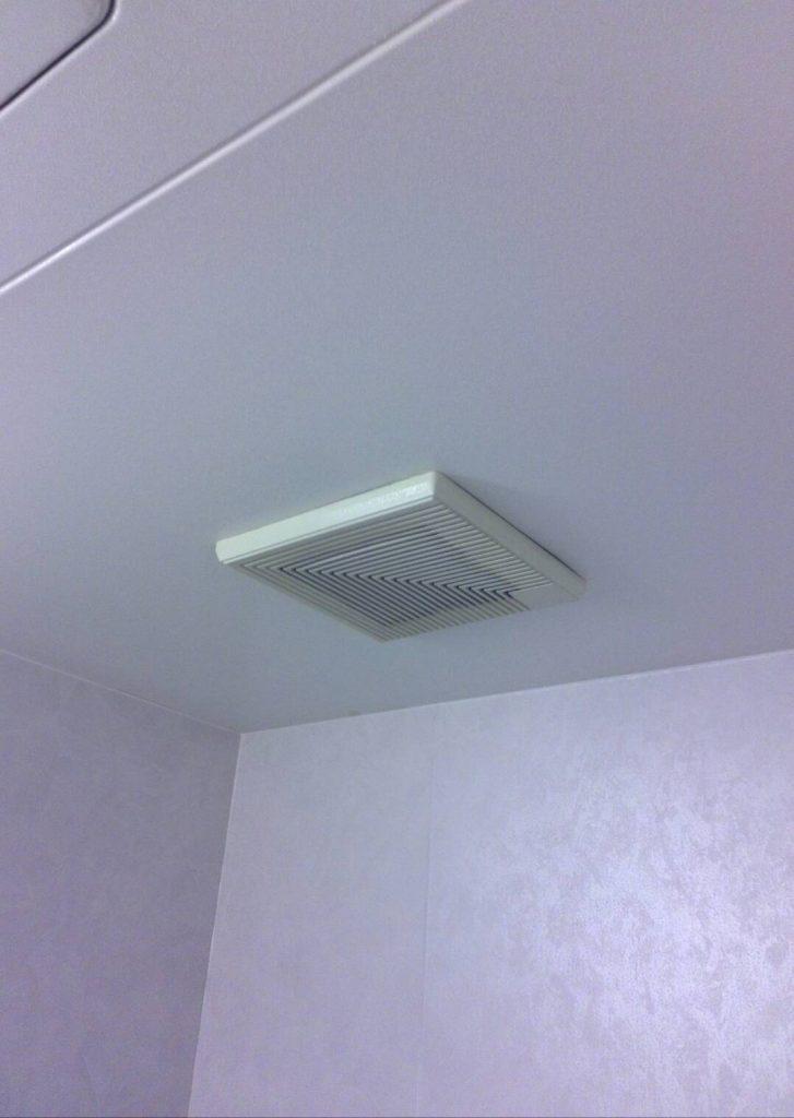 川崎市中原区 浴室換気扇交換工事