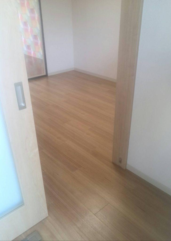 川崎市中原区 壁紙・床張替え工事