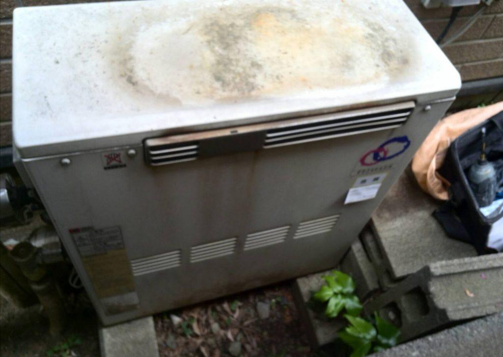 横浜市港北区 給湯器交換工事
