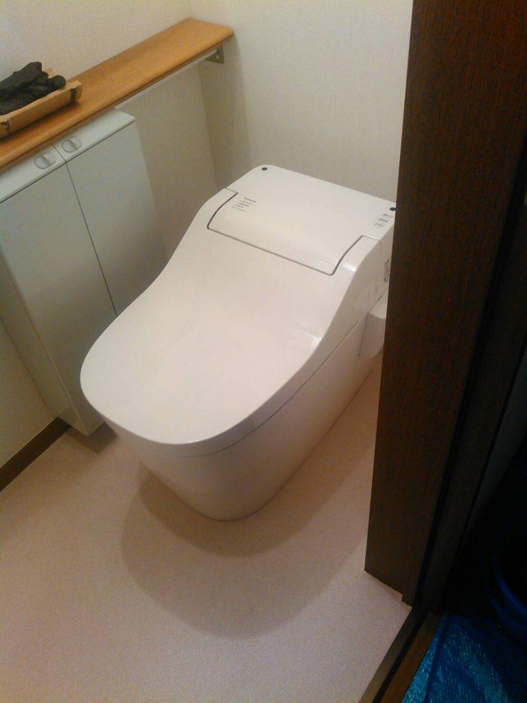 川崎市幸区 トイレ交換工事
