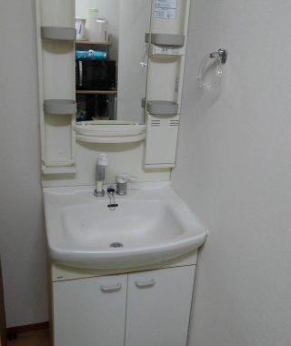 川崎市中原区 洗面化粧台リフォーム工事