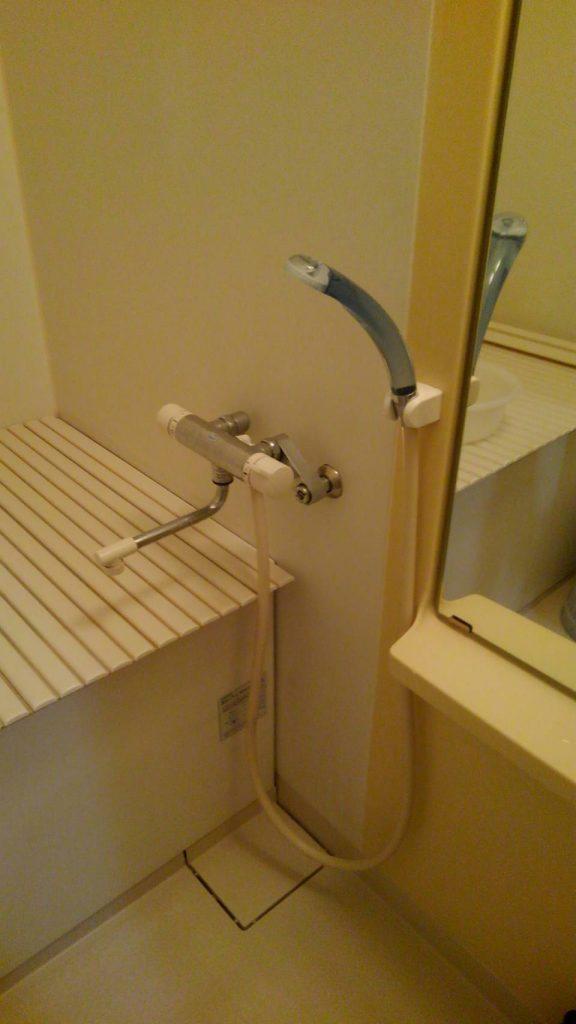 世田谷区 浴室シャワー水栓交換工事