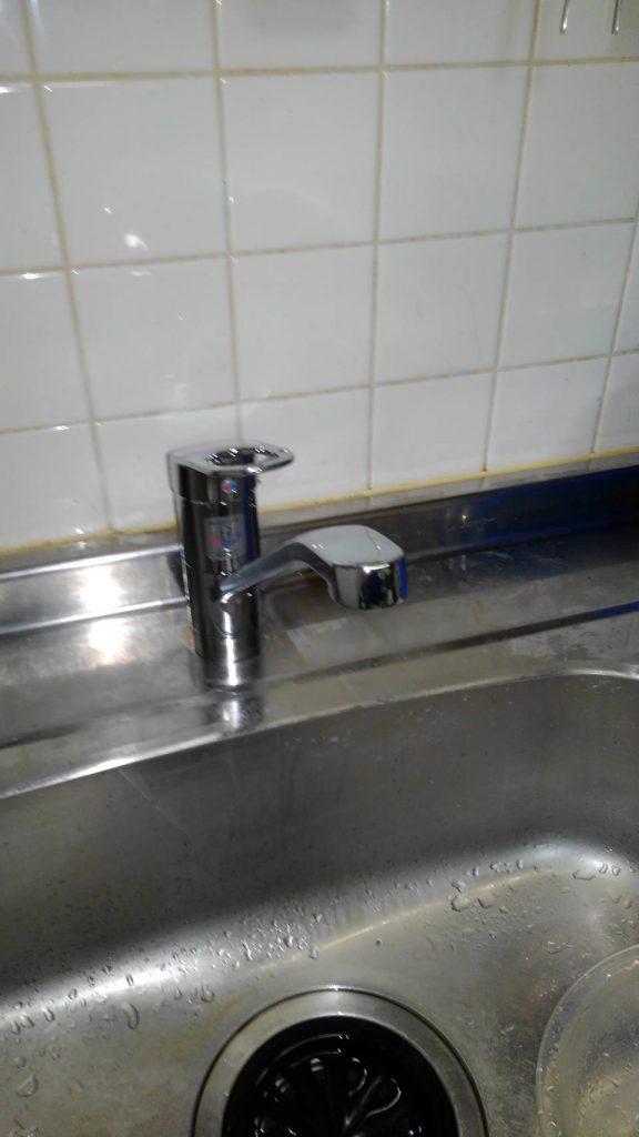川崎市中原区 水栓交換工事