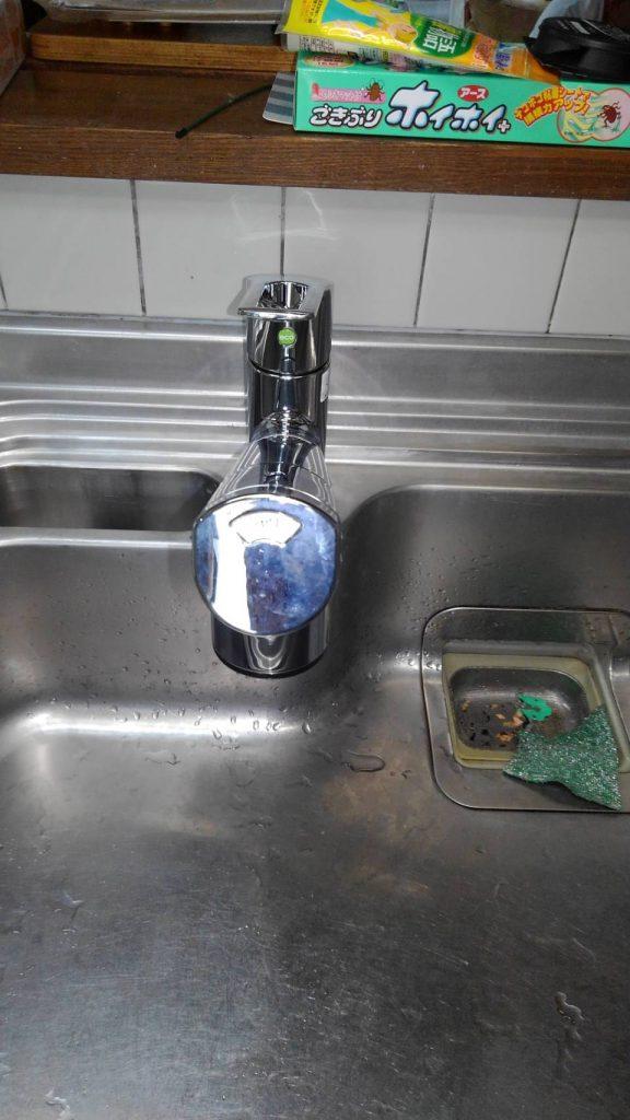 横浜市鶴見区 水栓交換工事