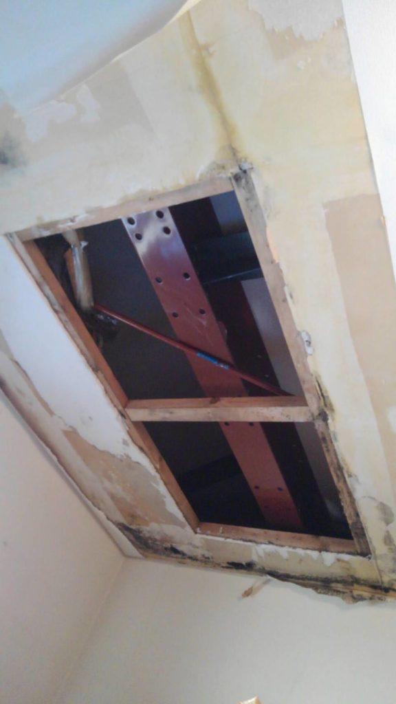 川崎市麻生区 雨漏り天井補修工事