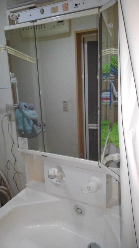 川崎市中原区 洗面化粧台交換工事