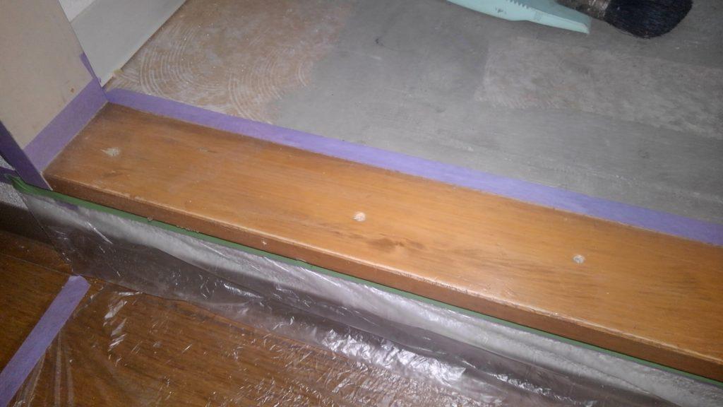 川崎市中原区 下枠塗装工事